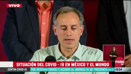 FOTO: 28 marzo 2020, López-Gatell llama enérgicamente a mexicanos a quedarse en casa