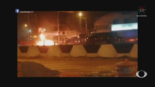 Foto: Video Quema Vehículos Distintos Puntos Celaya 27 Marzo 2020