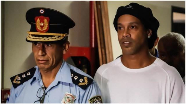 Foto: Dictan prisión preventiva a Ronaldinho, 7 de marzo de 2020 (EFE)