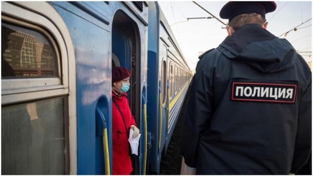 Imagen: Rusia anunció el cierre de todas sus fronteras por el coronavirus, 28 de marzo de 2020 (EFE)