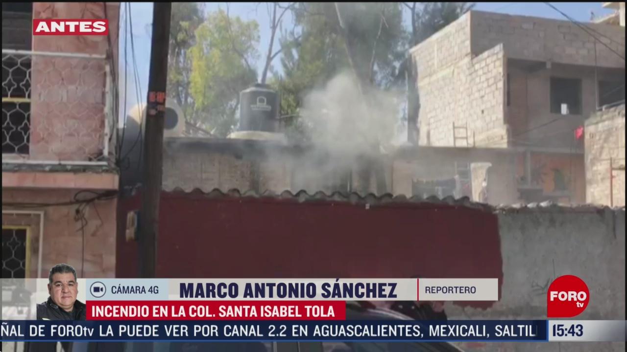 FOTO: se incendia casa en la alcaldia gam