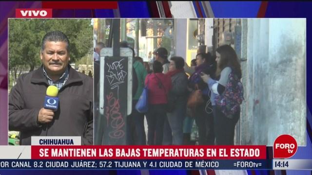 Foto: Bajas Temperaturas Se Mantienen Chihuahua 6 Marzo 2020