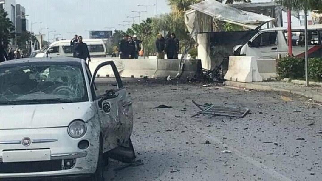 Se registra explosión cerca de la embajada de EEUU en Túnez