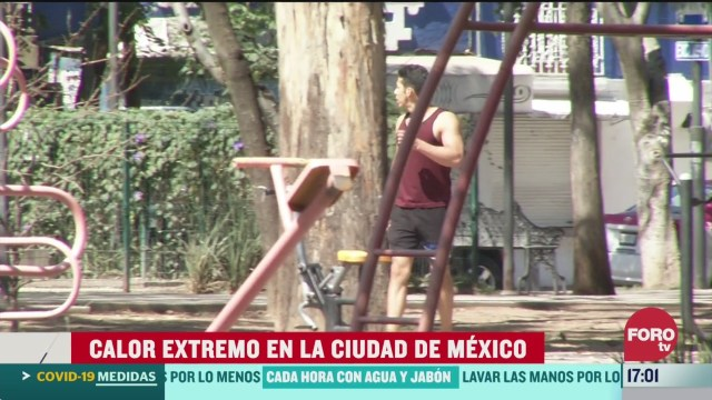 FOTO: 28 marzo 2020, se registran temperaturas de hasta 28 grados en la ciudad de mexico