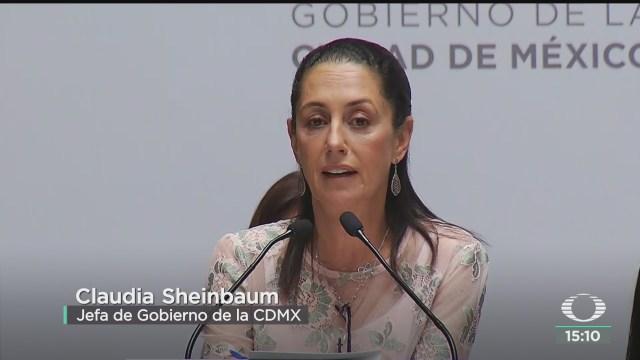 FOTO: sheinbaum anuncia estrategia para revenir violencia contra mujeres
