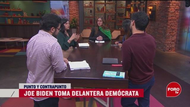 Foto: Supermartes Demócrata Con Dos Punteros 4 Marzo 2020