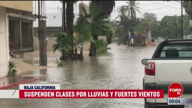 suspenden clases en baja california por lluvias