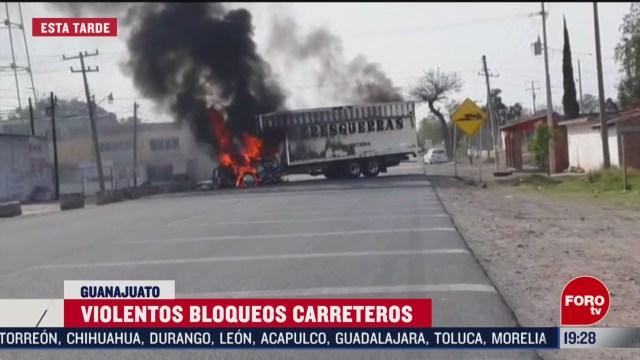 Foto: Videos Tarde Bloqueos Operativos Seguridad Guanajuato Hoy 10 Marzo 2020