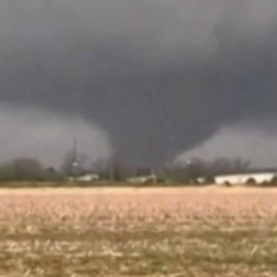 FOTO: Se registró un tornado en Arkansas, Estados Unidos, el 28 de marzo de 2020