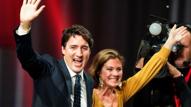 Foto: Trudeau y esposa se aíslan voluntariamente por sospecha de coronavirus