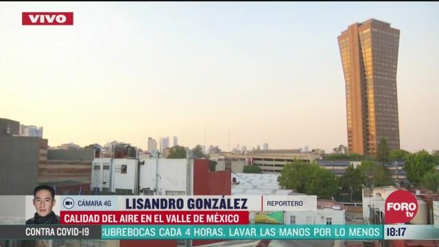 FOTO: valle de mexico registra mala calidad de aire