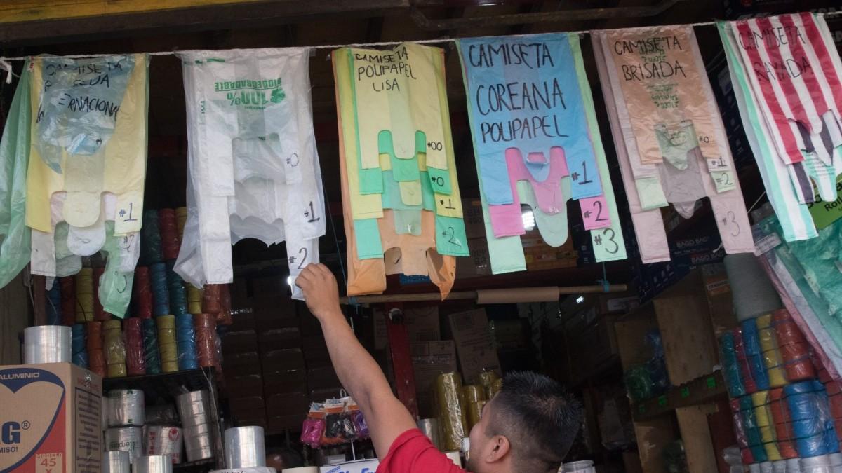 Bolsas de plástico para productos de origen animal en CDMX