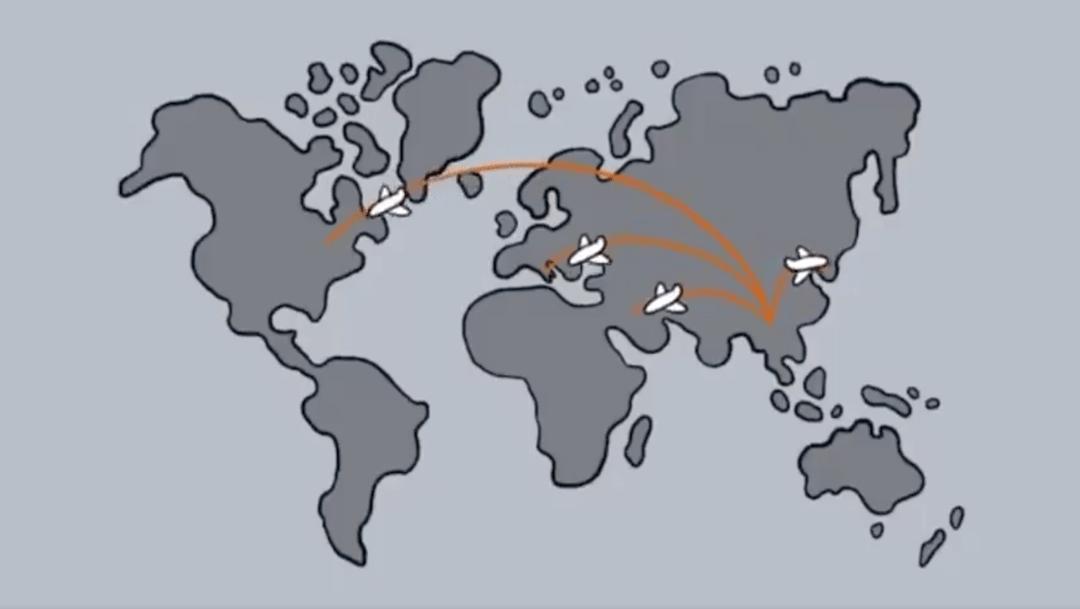 Foto Video: Universidad explica con dibujos cómo es la propagación del coronavirus 24 marzo 2020