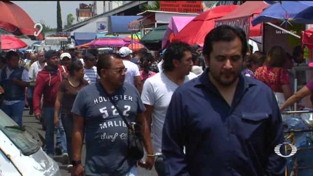 Foto: Coronavirus Abarrotan Mercado Mariscos Nueva Viga Pese Pandemia 9 Abril 2020