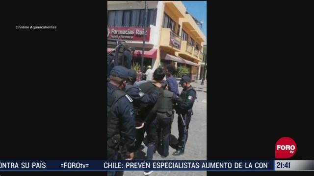 FOTO: 5 de abril 2020, acusan a policias de prepotentes por arrestar a extranjeros en calvillo aguascalientes