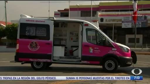 ambulancias exclusivas para coronavirus en nezahualcoyotl edomex