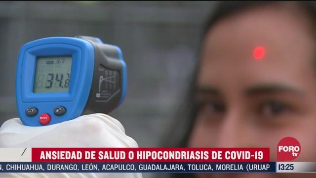 FOTO: ansiedad de salud por coronavirus