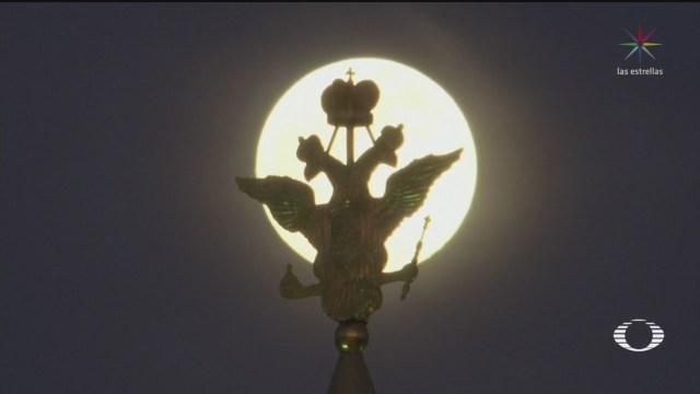 Foto: Así se vio la última superluna de 2020 7 Abril 2020