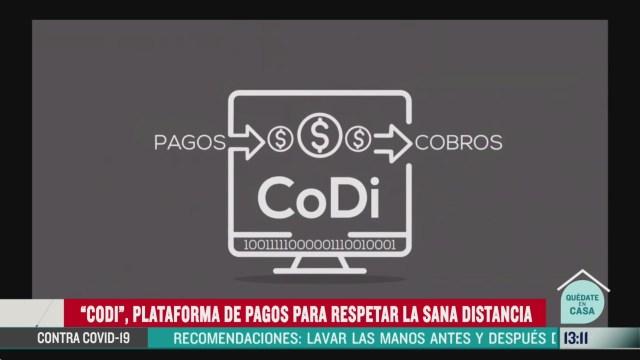 FOTO: banxico ofrece app para realizar pagos durante contingencia por coronavirus
