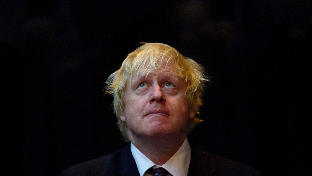 FOTO: Boris Johnson permanece en cuidados intensivos por coronavirus, el 7 de abril de 2020