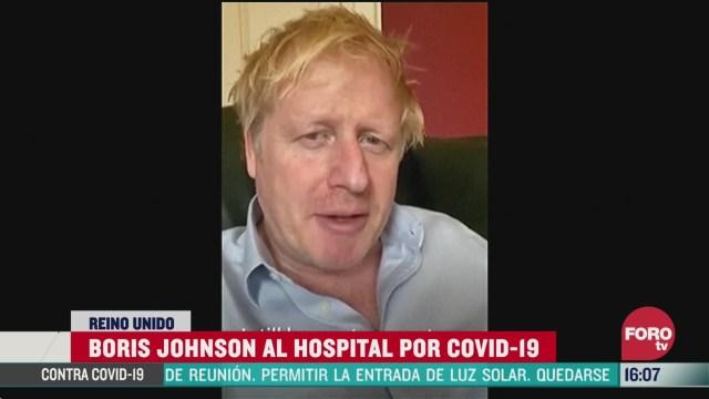 FOTO: 5 de abril 2020, boris johnson regresa al hospital para practicarse nuevos examenes de coronavirus