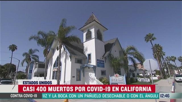 california incrementan casos por coronavirus