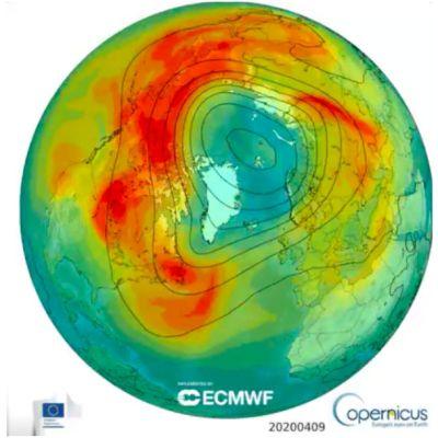 Se cerró el agujero más grande en la capa de ozono del Ártico