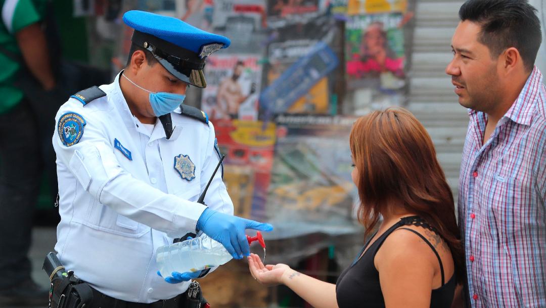 policia cdmx coronavirus