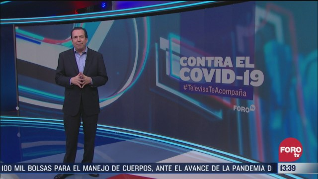 FOTO: contra el covid 19 televisateacompana primera emision 2 de abril de