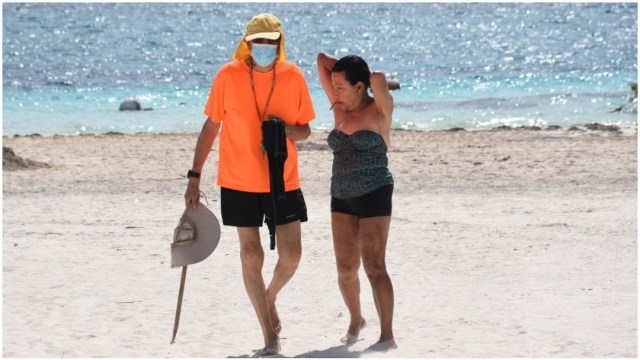 Imagen: Este sábado llegaron a 75 los casos positivos de coronavirus en Quintana Roo, 4 de abril de 2020 (ELIZABETH RUIZ /CUARTOSCURO.COM)