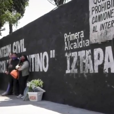 Crematorios en Iztapalapa, saturados por muertos por coronavirus