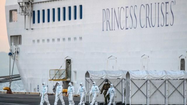 FOTO: Tercer crucero con sospecha de coronavirus navega hacia Florida, el 01 de abril de 2020