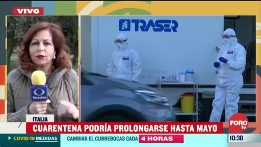 cuarentena por coronavirus podria prolongarse hasta mayo en italia