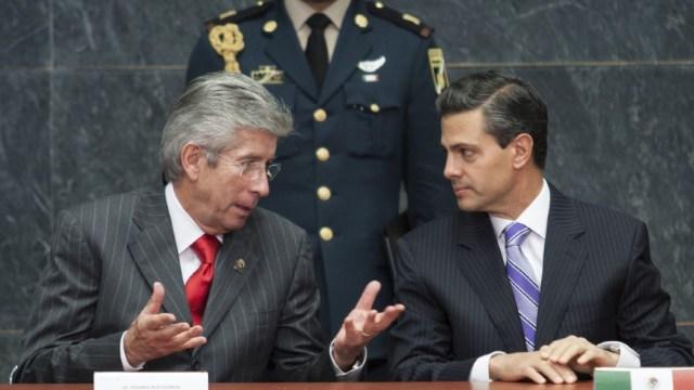 Foto: Peña Nieto lamenta muerte de Gerardo Ruíz Esparza, extitular de SCT, 27 de marzo de 2020, (Cuartoscuro, archivo)
