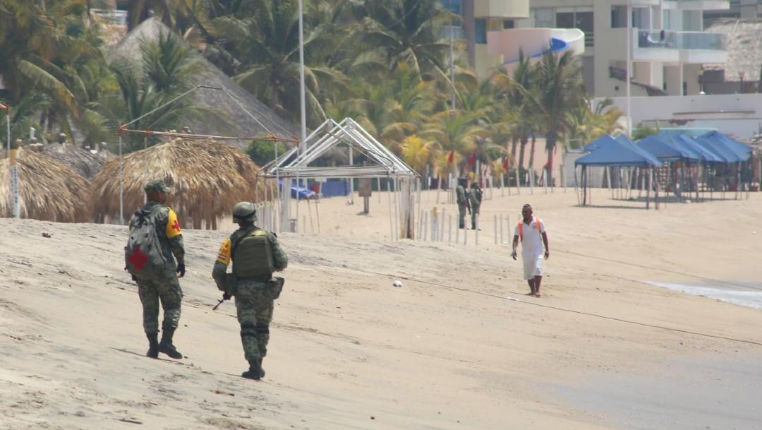 Foto: Playas en Guerrero, Chiapas y Campeche lucen vacías por el coronavirus, 11 de abril de 2020, (Cuartoscuro, archivo)