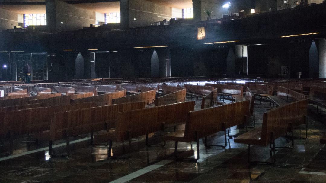 Foto: Coronavirus: CDMX vive Domingo de Resurrección sin gente en las iglesias, 11 de abril de 2020, (Cuartoscuro)
