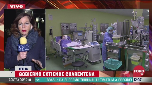 desciende numero de contagios por coronavirus en italia