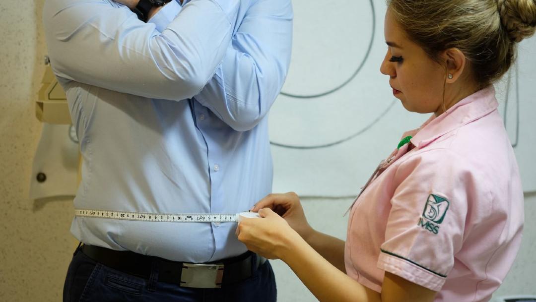 prueba de cuello manchado por diabetes