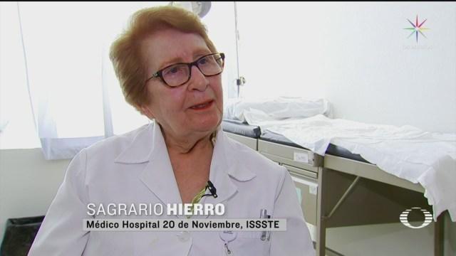 Foto: doctora de 81 anos hace frente al coronavirus en el hospital 20 de noviembre 23 Abril 2020
