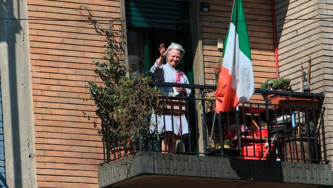 Foto: Italia confirma ligero descenso de contagios por coronavirus