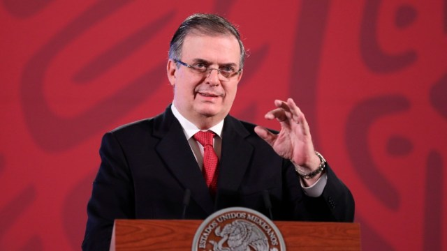 Foto: Ebrard: Acuerdo histórico de México en la ONU para atender coronavirus. (EFE)