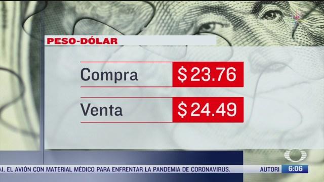 el dolar se vende en 24 49 en cdmx