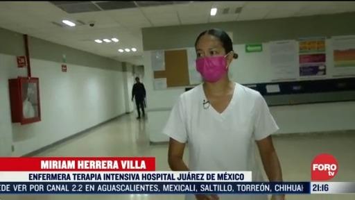 Foto: 3 Abril 2020 CoronavirusEnfermera Narra Trato Pacientes Positivos COVID-19