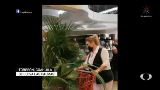 Foto: Video Enfermera Recibe Aplausos Reconocimiento Supermercado Coahuila Torreón 23 Abril 2020