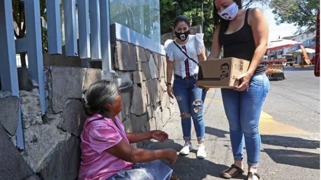 Entregas de despensas por criminales, hecho aislado: Segob