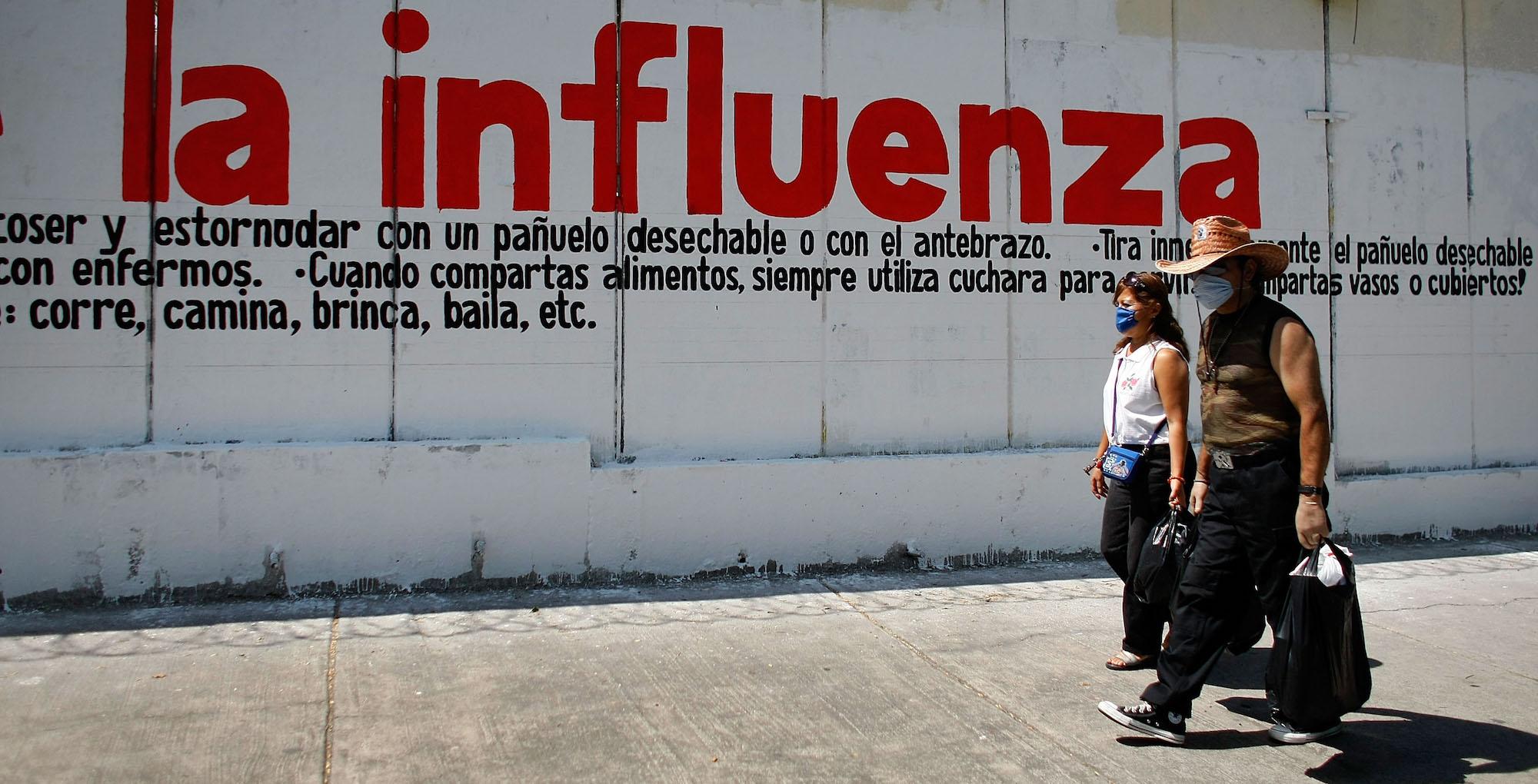 Influenza H1N1 en México, Foto