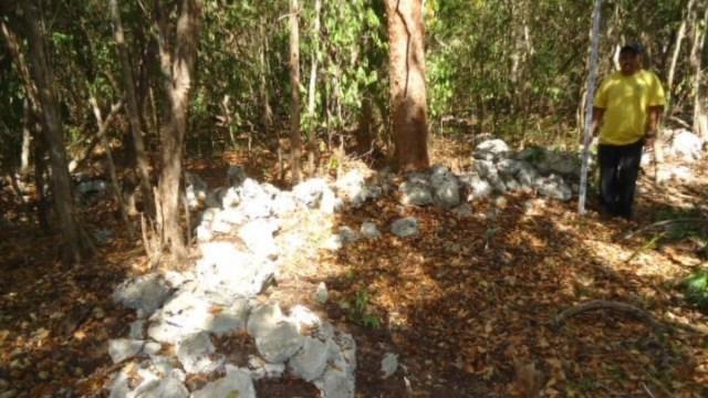 Descubren aldea prehispánica en Mahahual, Quintana Roo