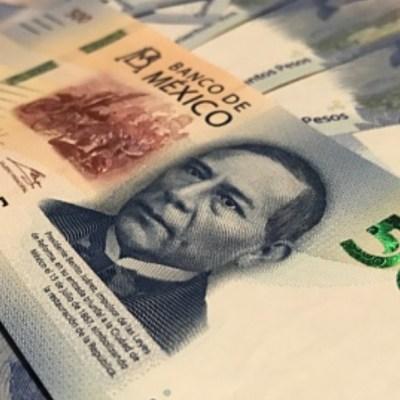 Foto: Un billetes de 500 pesos mexicanos. Getty Images