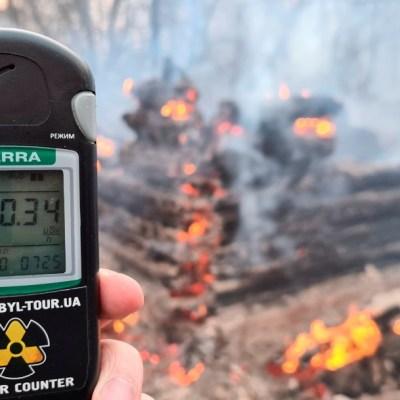 Foto: Incendio en Chernoby dispara radiación. Reuters