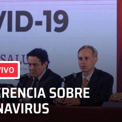 Imagen: Conferencia de salud sobre el coronavirus, 19 de abril de 2020 (Facebook)
